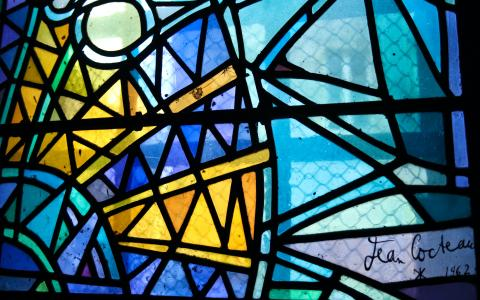Image of a stained glasswindow