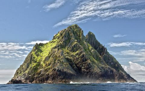 Image of Skellig Michael island